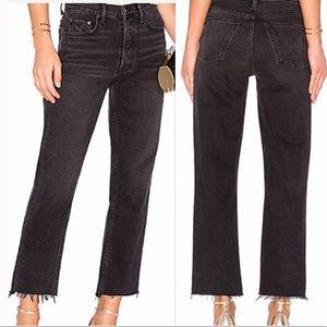 GRLFRND The Helena Black Jean High- Rise